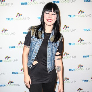 Alexis Krauss, Sleigh Bells in Cyndi Lauper and Friends: Home for The Holiday's Concert - Arrivals