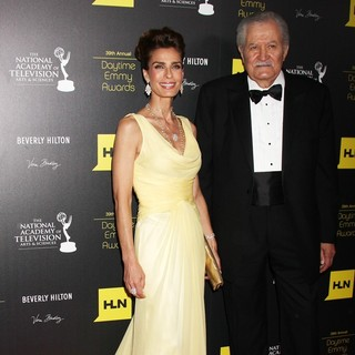 Kristian Alfonso, John Aniston in 39th Daytime Emmy Awards - Arrivals