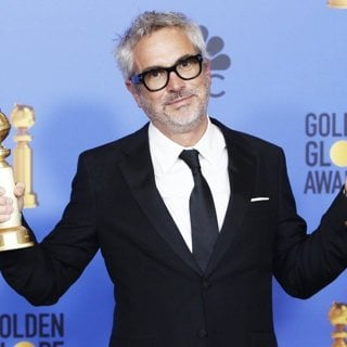 Alfonso Cuaron in 76th Golden Globe Awards - Press Room