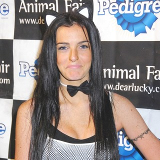 Ali Lohan in Animals Fair Magazine's 8th Annual Halloween Pet Costume Party