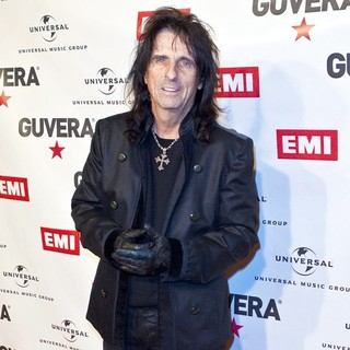 Alice Cooper in Guvera Pre-Launch Party