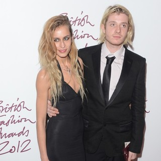 Alice Dellal in The British Fashion Awards 2012 - Arrivals