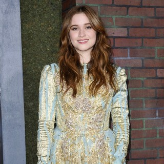 Alice Englert in Beautiful Creatures Los Angeles Premiere