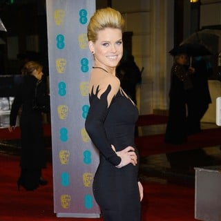 Alice Eve in The 2013 EE British Academy Film Awards - Arrivals