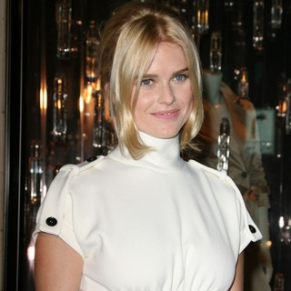 Alice Eve in Burberry Body Fragrance Launch Hosted by Christopher Bailey and Rosie Huntington-Whiteley