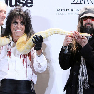 Alice Cooper, Rob Zombie in The 26th Annual Rock and Roll Hall of Fame Induction Ceremony