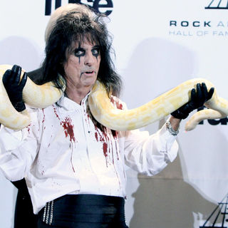 Alice Cooper in The 26th Annual Rock and Roll Hall of Fame Induction Ceremony