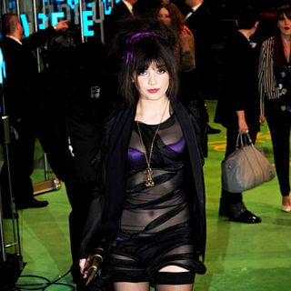 Daisy Lowe in 'Alice in Wonderland' UK Premiere - Arrivals