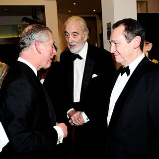 Prince Charles, Christopher Lee, Paul Whitehouse in 'Alice in Wonderland' UK Premiere - Arrivals