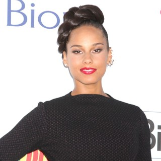 Alicia Keys in 2012 Billboard Music Awards - Arrivals