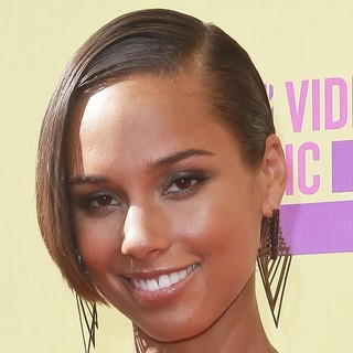 Alicia Keys in 2012 MTV Video Music Awards - Arrivals