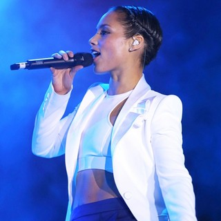 Alicia Keys in 2013 Monster CES Party