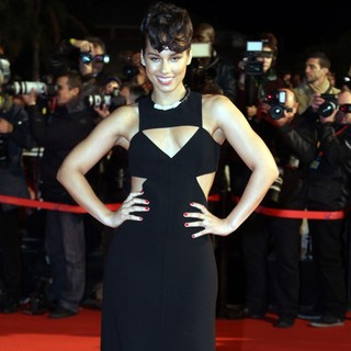 Alicia Keys in 2013 NRJ Music Awards - Arrivals