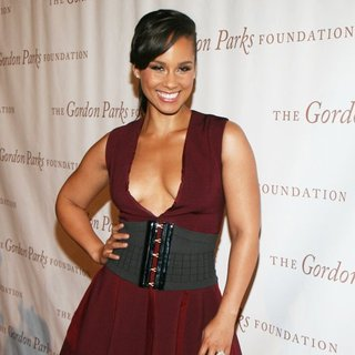 Alicia Keys in The 2014 Gordon Parks Foundation Awards Dinner and Auction