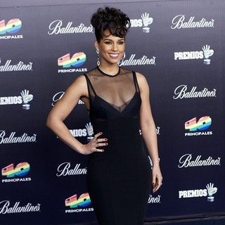 Alicia Keys in The 2013 40 Principales Awards