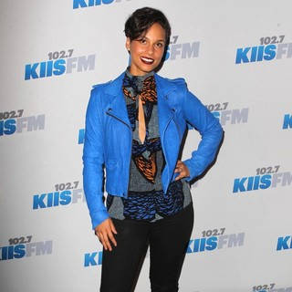 Alicia Keys - KIIS FM's 2012 Jingle Ball - Night 2 - Arrivals