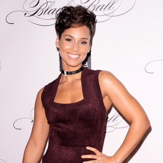 Alicia Keys in Keep A Child Alive's Black Ball 2012 - Arrivals