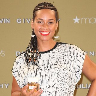 Alicia Keys in The Launch of Givenchy's Fragrance Dahlia Divin