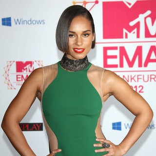 Alicia Keys in The MTV EMA's 2012 - Arrivals