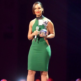 Alicia Keys in The MTV EMA's 2012 - Show