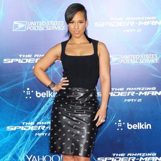 New York Premiere of The Amazing Spider-Man 2 - Red Carpet Arrivals - alicia-keys-premiere-the-amazing-spiderman-2-03