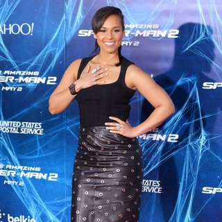 Alicia Keys in New York Premiere of The Amazing Spider-Man 2 - Red Carpet Arrivals