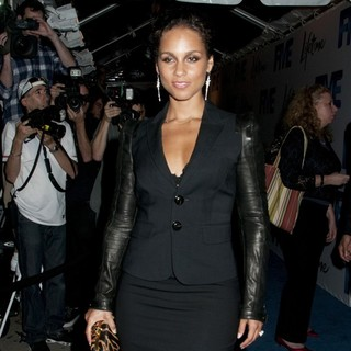 Alicia Keys in Lifetime's Screening of Five