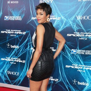 New York Premiere of The Amazing Spider-Man 2 - Red Carpet Arrivals - alicia-quarles-premiere-the-amazing-spiderman-2-03