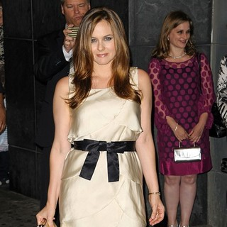 Alicia Silverstone in New York Screening of Butter