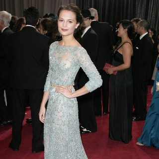 Alicia Vikander in The 85th Annual Oscars - Red Carpet Arrivals