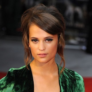 Alicia Vikander in The Premiere of Anna Karenina