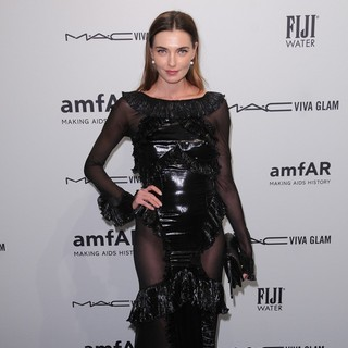 Alina Baikova in The amfAR Gala 2013