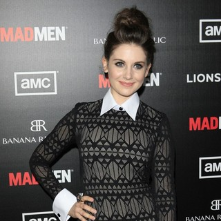 Alison Brie in AMC's Special Screening of Mad Men Season 5 - Arrivals