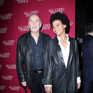 "Frank Langella, Nicole Roderick in The New York Premiere of ""All Good Things"""