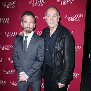"Andrew Jarecki, Frank Langella in The New York Premiere of ""All Good Things"""