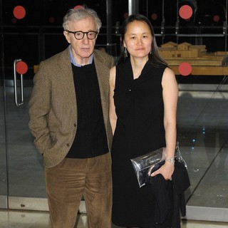 Woody Allen, Soon-Yi Previn in The Italian Premiere of To Rome with Love