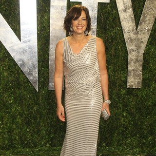 Allison Janney in 2012 Vanity Fair Oscar Party - Arrivals