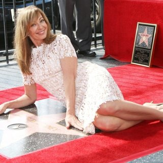 Allison Janney at The Hollywood Walk of Fame Star Ceremony
