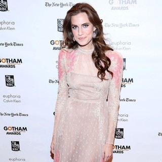 Allison Williams in The Independent Film Project's 22nd Annual Gotham Independenent Film Awards