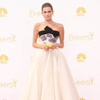 Allison Williams in 66th Primetime Emmy Awards - Arrivals
