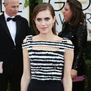 Allison Williams in 71st Annual Golden Globe Awards - Arrivals