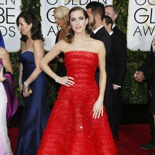 Allison Williams in 72nd Annual Golden Globe Awards - Arrivals