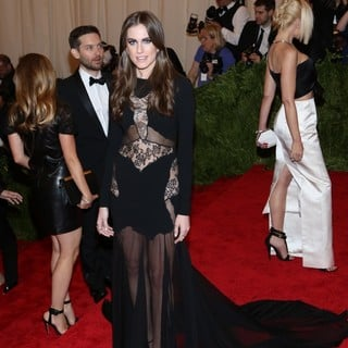 Allison Williams in PUNK: Chaos to Couture Costume Institute Gala