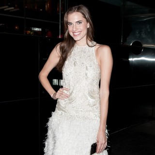 Allison Williams in Met Ball 2012 Afterparty