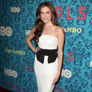 Allison Williams in The New York Premiere of HBO's Girls