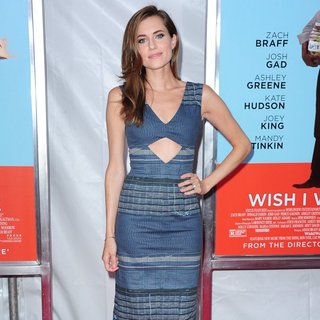 Allison Williams in Wish I Was Here Screening