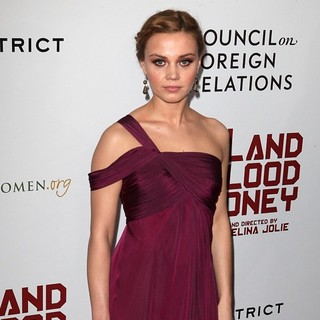 Alma Tervic in Premiere of In the Land of Blood and Honey - Arrivals