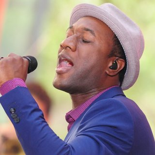 Aloe Blacc in Aloe Blacc Performing Live on The Today Show as Part of NBC's Toyota Summer Concert Series