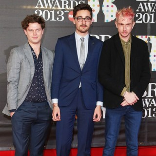 alt-J in The 2013 Brit Awards - Arrivals