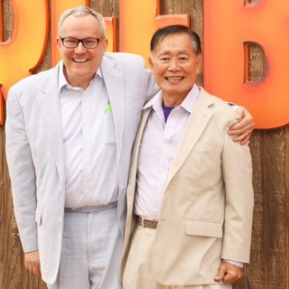 Brad Altman, George Takei in World Premiere of Free Birds